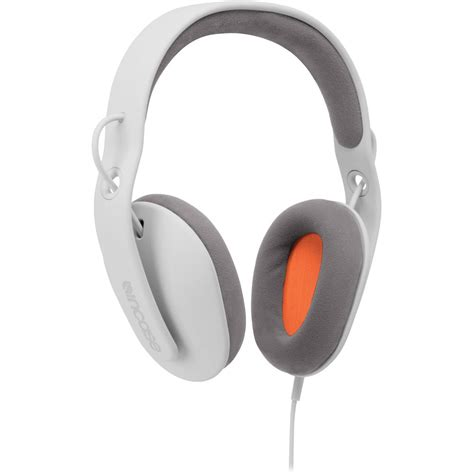 White Gray Sonic Top incase designs corp sonic around ear stereo headphones