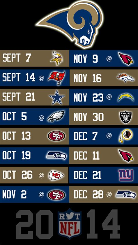 st rams schedule 2014 nfl schedule wallpapers for iphone 5 page 8 of 8