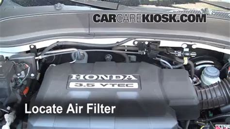 auto air conditioning service 2006 honda ridgeline engine control air filter how to 2006 2014 honda ridgeline 2008 honda