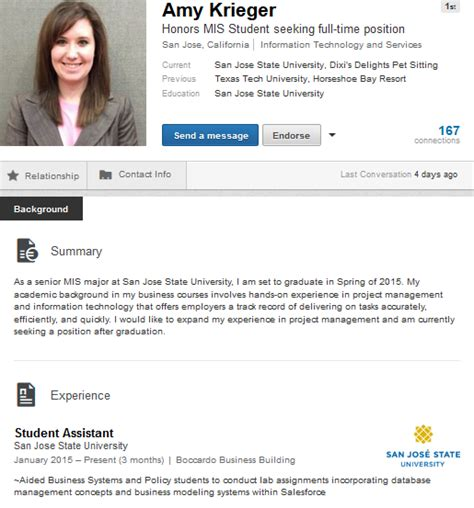 Linkedin Summary Exles For Mba Students by Awesome Students For Hire If You Can Find Them On Linkedin