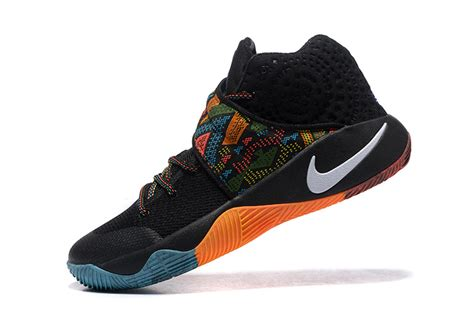 multi colored nikes kyrie 2 bhm black multi color multi color nike kyrie 2 shoes