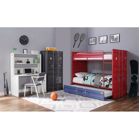 zoomie kids otero standard bunk configurable bedroom set