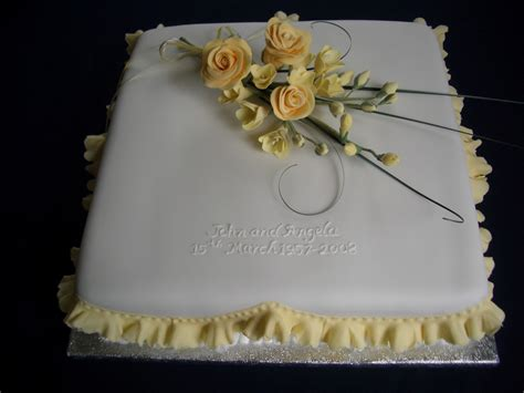 Anniversary Cake by Anniversary Cakes Ticky Dix Cakes Woking Surrey