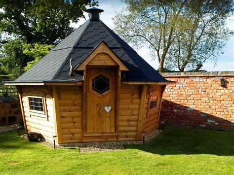 Log Cabin Barbecue by Swedish Bbq Hut Cheaper Than Hobbit House Cabins
