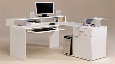 office computer desk corner computer armoire small white