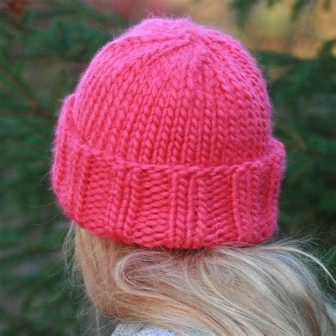 free hat knitting patterns using needles best 25 knit hat patterns ideas on free