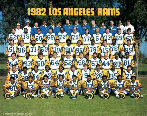 Ram Team los angeles rams 1983 nfl