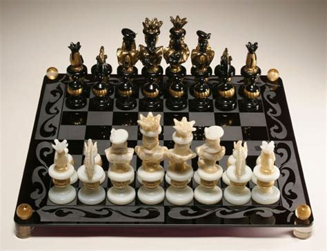 glass chess boards antique chess set game fabulous murano glass venetian