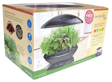 hydroponic herb garden kit aerogarden 7 w gourmet herb grow anything kit