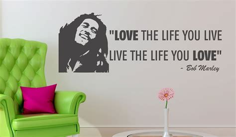 31 days of loving where you live day 24 teen girls room bob marley quote live the life you love live life you love