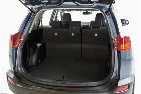 Toyota Rav4 Trunk Space 2013 Toyota Rav4 Cargo Space With Space Saver Spare