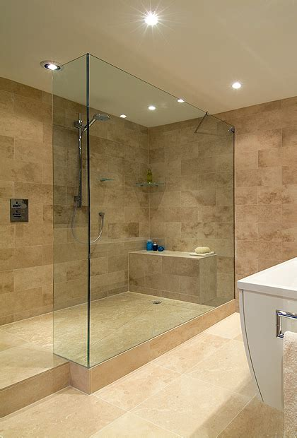 frameless walk  shower panels ssi