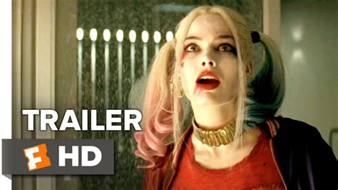 margot robbie new movie suicide squad official trailer 1 2016 jared leto