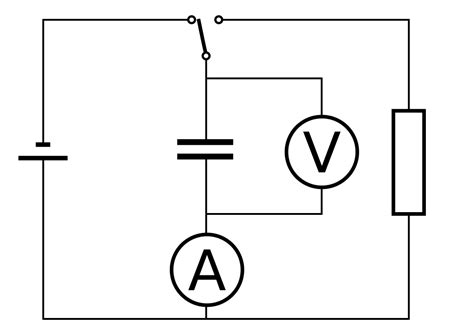 open capacitor resistance file capacitor resistor series svg wikibooks open books for an open world