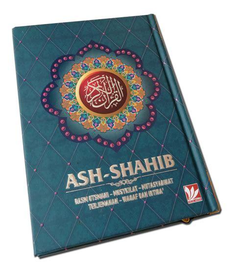 al quran terjemah ash shahib a5 jual quran murah