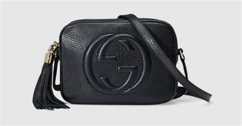 Tas Gucci Mini 446a soho small leather disco bag gucci s shoulder bags 308364a7m0g1000