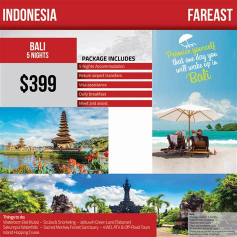 indonesia  package travel mate