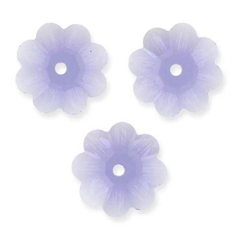 fiore swarovski fiore swarovski mm 10 tanzanite x1 swarovski perles co