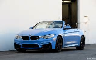 Bmw Yas Marina Blue Yas Marina Blue Bmw M4 Convertible Has A Trunk Wing