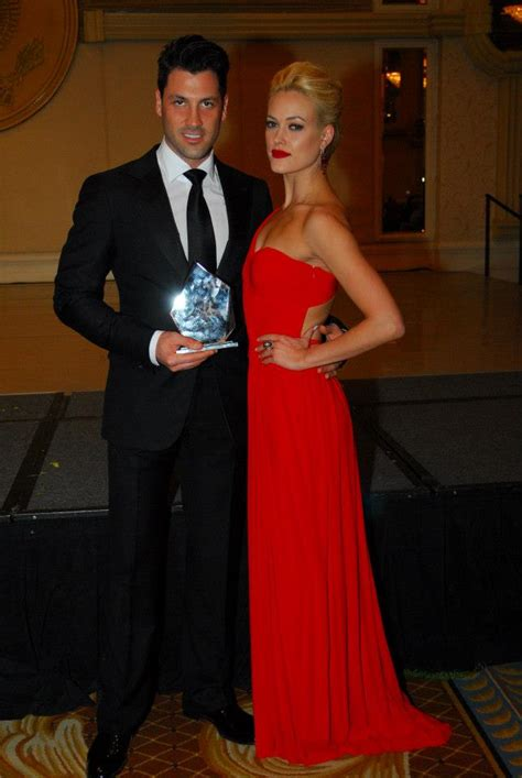 maks chmerkovskiy  peta murgatroyd attend ukraine  washington  gala  pure