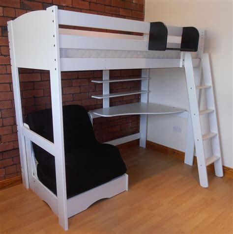 high beds 17 best ideas about cabin bed with desk on pinterest cabin bed with wardrobe high