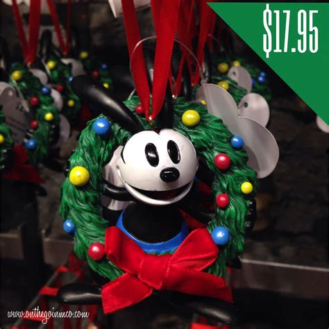 disney character christmas ornaments on the go in mco