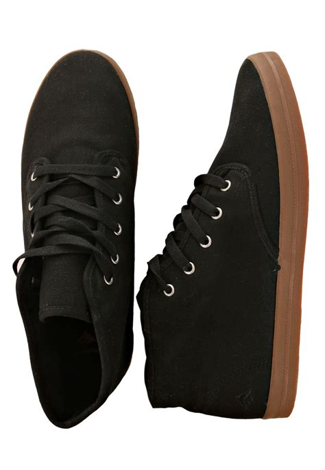 emerica wino mid black gum shoes impericon uk