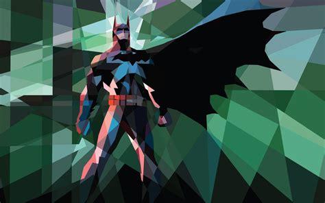 wallpaper batman low poly android wallpaper low poly art