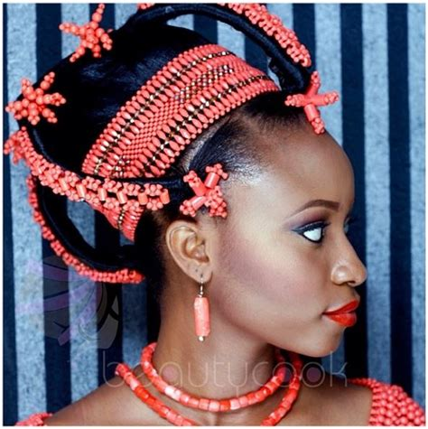 igbo traditional hairstyles and their names bn bridal beauty edo brides in beautiful beaded benin