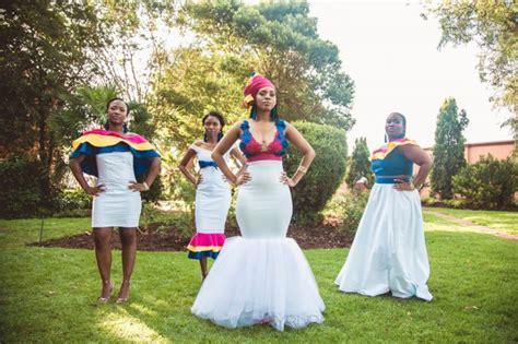Simple South African Traditional Dresses