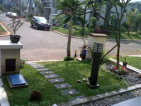Lu Taman Depan Rumah contoh taman pekarangan rumah