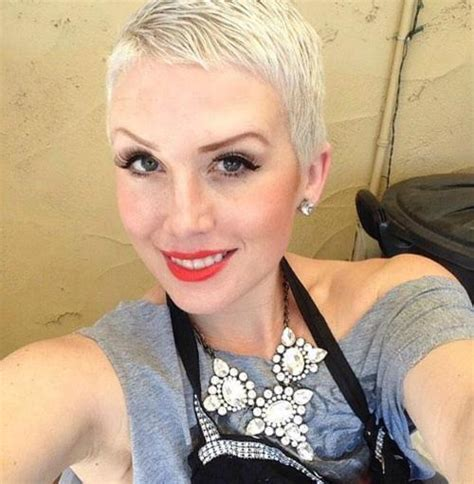 platnium highlights very very short pixie salt and pepper pixie haircuts for thick hair 50 ideas of ideal short