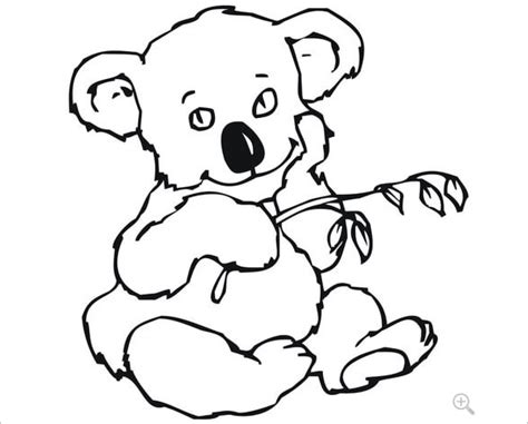 12 Koala Templates Crafts Colouring Pages Free Premium Templates Koala Template