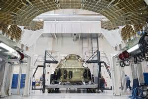 Orion Capsule Interior Orion Spacecraft Inside The Operations Amp Checkout Building