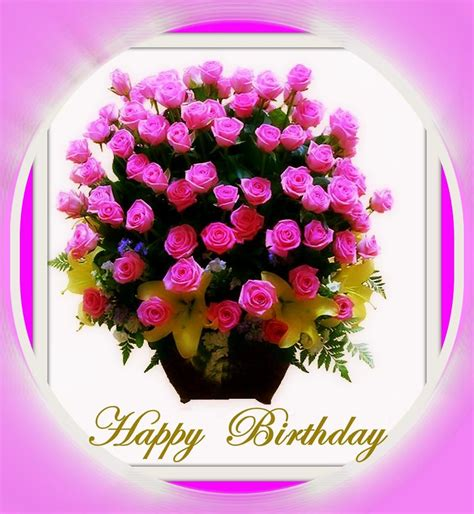 happy birthday flower images happy birthday flowers birthday greetings