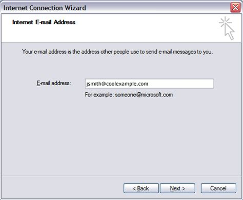 email name setting up your personal email address to use microsoft