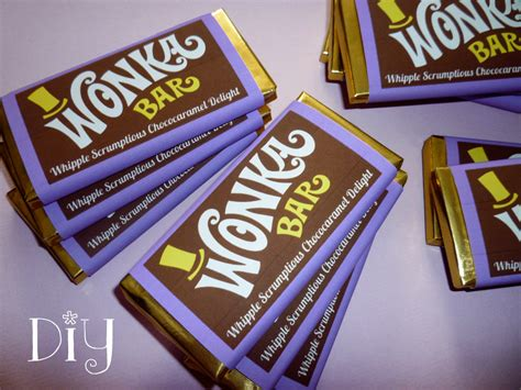 Chocolate Wonka M wonka bar wrappers wonka bar bar wrapper template willy