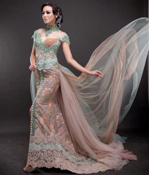 Setelan Kebaya Fl 456 A dengan 11 gaun pengantin ini kamu bisa secantik putri di
