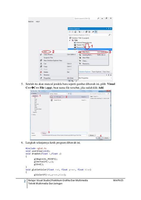 membuat aplikasi ios dengan visual studio membuat program menilkan titik dengan visual studio
