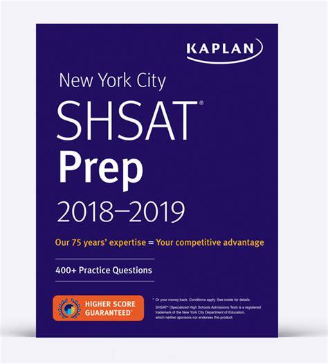 kaplan test shsat high school admissions books kaplan test prep