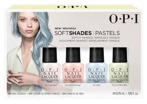 Opi Mini Soft Shades 2015 opi soft shades pastel 2016 collection