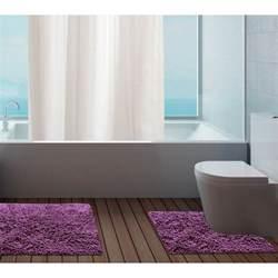 Bathroom Pedestal Sets 100 Cotton Bathroom Mats Set Washable Bath Pedestal