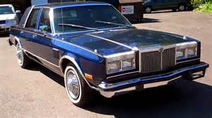 1980s Chrysler Line 1982 Chrysler New Yorker Fifth Avenue