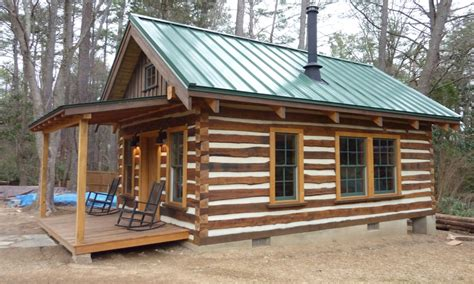 build a small house cheap building rustic log cabins small cheap log cabins easy to