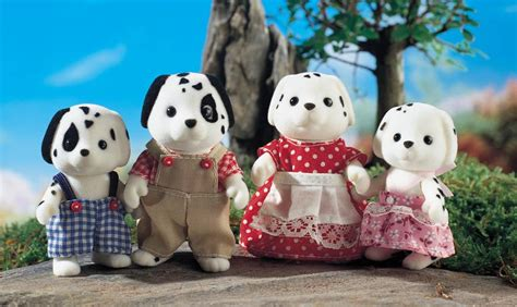 Dalmantion Family sylvanian families dalmatian family