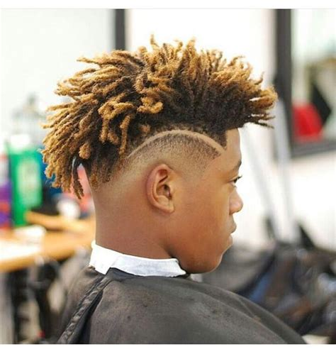 black mens hairstyles with tinted hairstyle for black men world trends fashion