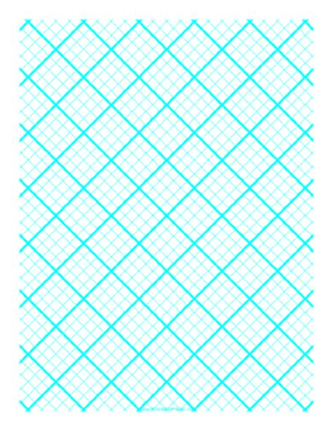 quilt grid template paper for quilting with 4 lines per inch and heavy index