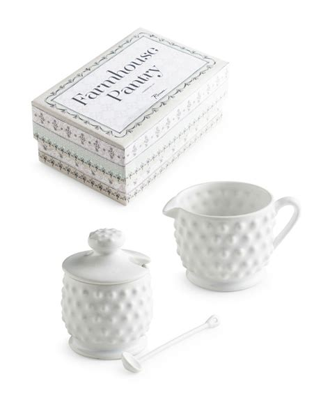 Pantry Set by Farmhouse Pantry Condiments 3pc Set Tableware And Home