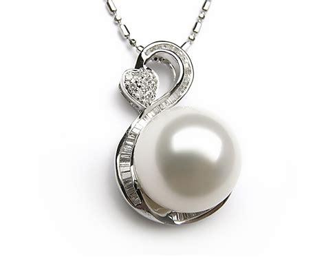 white south sea pearl pendant 13mm 14mm aa