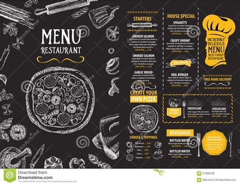 takeaway menu template free 3 popular sle templates